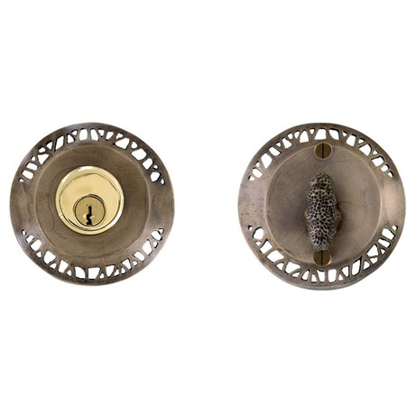 Hedgerow Deadbolt and Turnpiece  by Martin Pierce