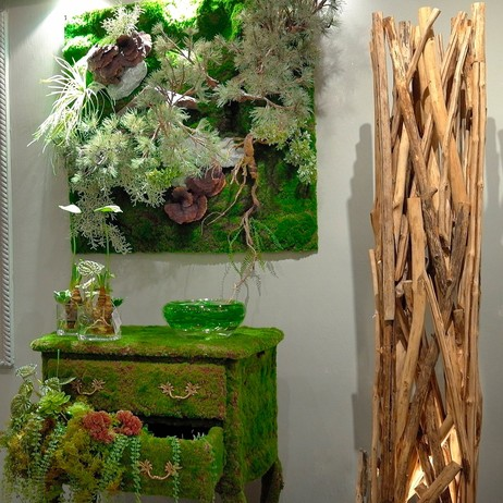 Wall Garden & Commode by Emilio Robba