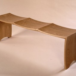 Bench for Three by Gregg Lipton Furniture
