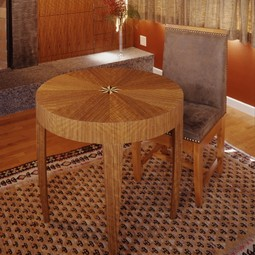 Tusk Side Table by Gregg Lipton Furniture