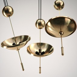 Jorge (Pulley) Lamp by Iris Design Studio