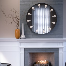 Perito Moreno Vanity Circle  by Iris Design Studio