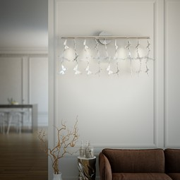 Galapagos Wall Lamp White by Iris Design Studio