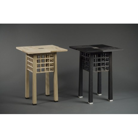 Viennese End Tables by Kevin Rodel Furniture & Design Studio