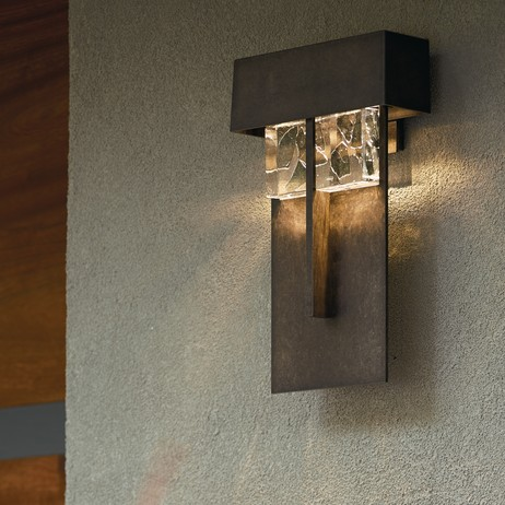 Shard Large LED Outdoor Sconce  by Hubbardton Forge