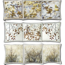 Thea Schrack Pillow Groups by Dallas A. Saunders Studio