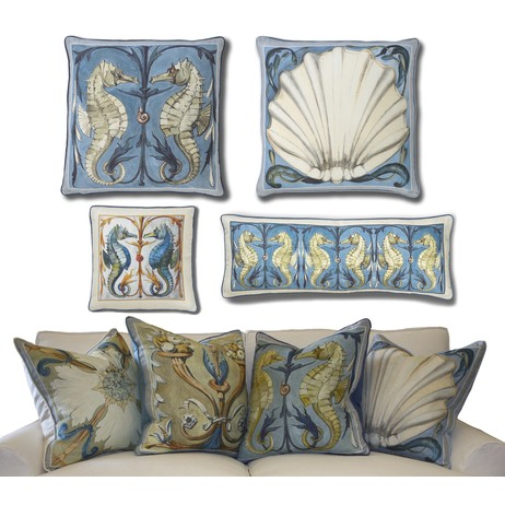 Hearst Castle Collection Pillows by Dallas A. Saunders Studio