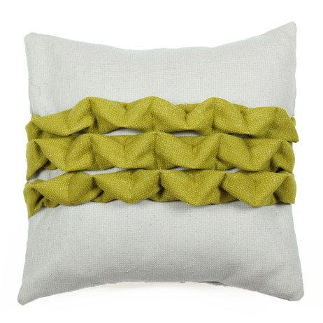Linear Fold Cushion by Lorna Syson Textiles