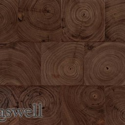 Walnut End Grain by Kaswell Flooring Systems