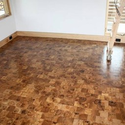 Reclaimed Hickory by Kaswell Flooring Systems