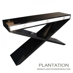 X Console with drawers by Plantation Design