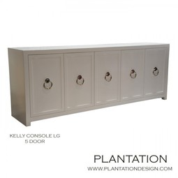 Kelly Console 5 door LG by Plantation Design