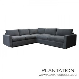 Arden Slim Arm Sectional by Plantation Design
