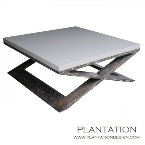 Xavier Coffee Table Square by Plantation Design