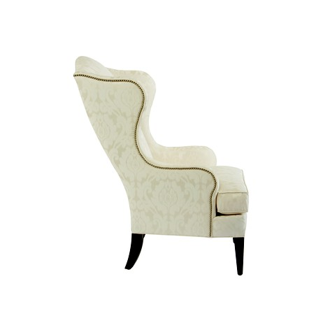 selby wing chair  by Ethan Allen