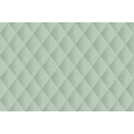 Faux Padded Harlequin - Teal by Casart Coverings, LLC