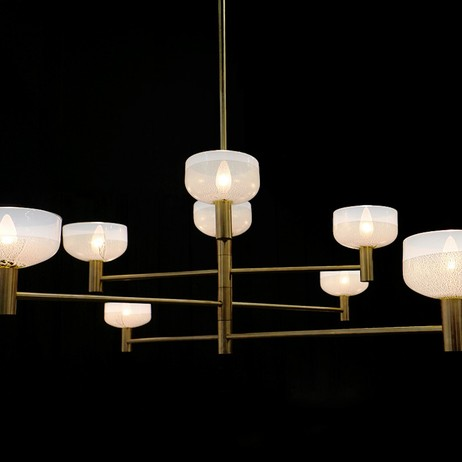 Otto Luce Chandelier by CartwrightNY