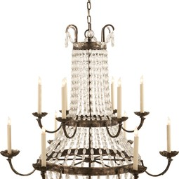 PARIS FLEA MARKET CHANDELIER by Circa Lighting