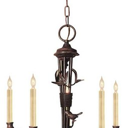 PERCHING BIRDS CHANDELIER by Circa Lighting