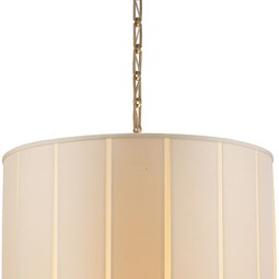 PERFECT PLEAT PENDANT by Circa Lighting