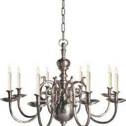 LARGE 18TH CENTURY 8-LIGHT CHANDELI by Circa Lighting