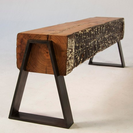 DOVETAIL BENCH by Analog Modern