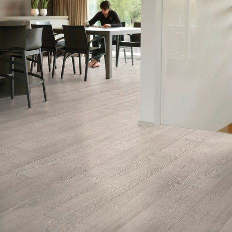 Dominicano Oak Grey-Largo Laminate Collection by Carlisle Wide Plank Floors