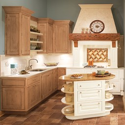 Hanover Maple Inset  by Wellborn Cabinet, Inc.