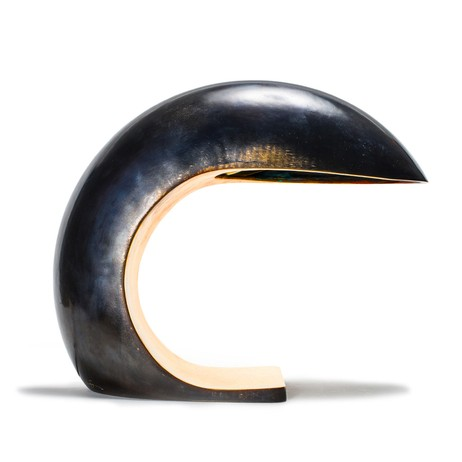 Bronze Nautilus Study Table Lamp by MAN of the WORLD