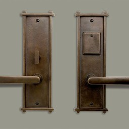 Trellis escutcheon plate with L-122 by Sun Valley Bronze