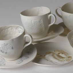 Tea cups by Claire Cole Design