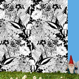 English Garden Wallpaper by Dupenny