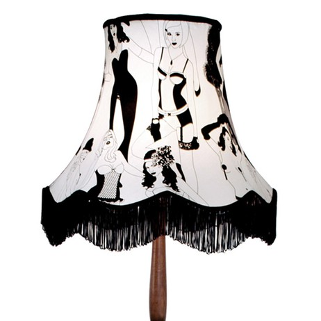 Burlesque Lampshade by Dupenny