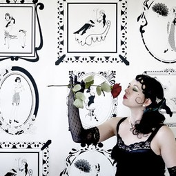 1920's Glamour Wallpaper by Dupenny