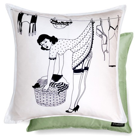 50's Housewives Cushions - Peggy by Dupenny