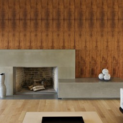 Fireplace by Concreteworks