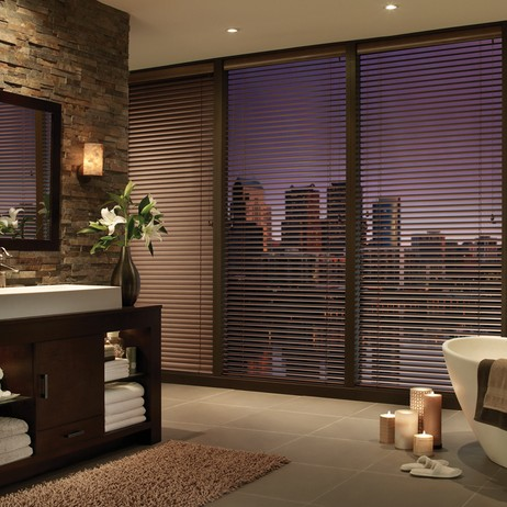 Hunter Douglas Modern Precious Metals® Blinds by Janovic