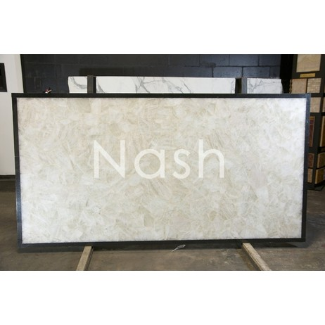 WHITE CRYSTAL QUARTZ by Nash Granite and Marble