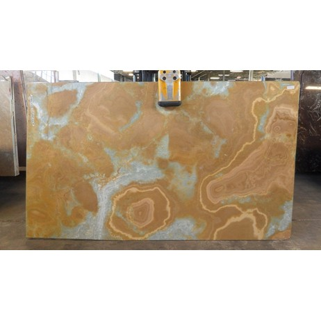 GOLDEN BLUE ONYX by Nash Granite and Marble