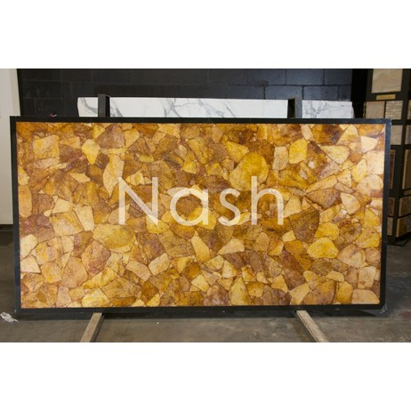 GOLDEN CRYSTAL  by Nash Granite and Marble