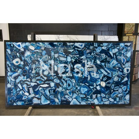BLUE AGATE by Nash Granite and Marble