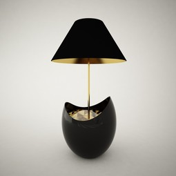 Darklight lamp by meikstudio