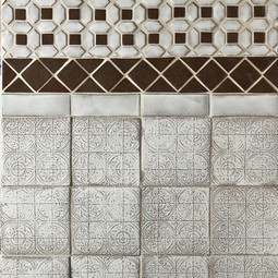 Byzantium and Lattice Fields by Lilywork Tile