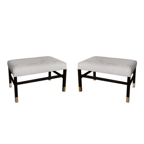 PAIR OF HARVEY PROBBER STYLE BENCHE by Irwin Feld Design