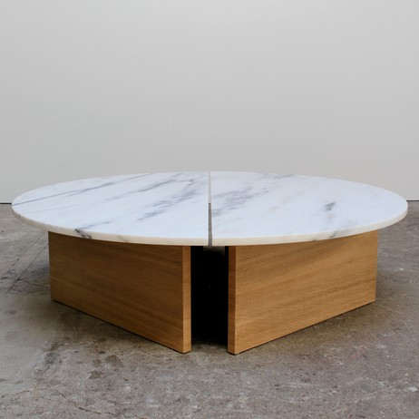 Half Moon Coffee Table by Ben and Aja Blanc