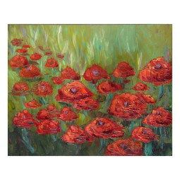 """RED POPPIES"" by EFERNANDES VISUAL ARTIST"