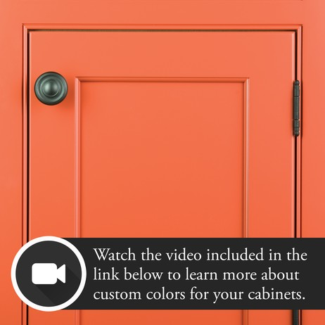 Creating with Custom Colors  by Plain & Fancy Custom Cabinetry
