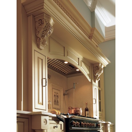 Traditional Kitchen Cabinetry by Plain & Fancy Custom Cabinetry