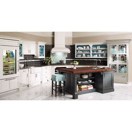Avante-Garde Contempo Cabinetry by Plain & Fancy Custom Cabinetry