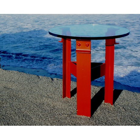Side Table by Golden Gate Bridge Furniture Co.